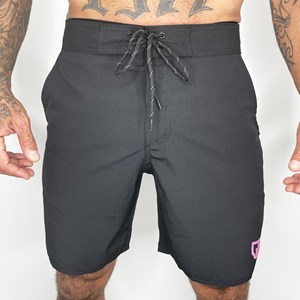 Bermuda Slim Onset Fitness By Gui Malheiros -  Black