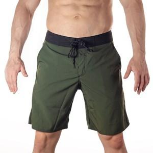 Bermuda Slim Onset Fitness Cross - Army Green