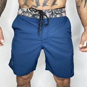 Bermuda Slim Onset Fitness Cross - Mosaic/Blue