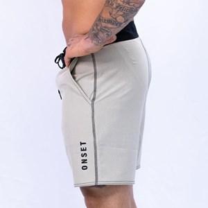 Bermuda Slim Onset Fitness Crossfit - Light Sand