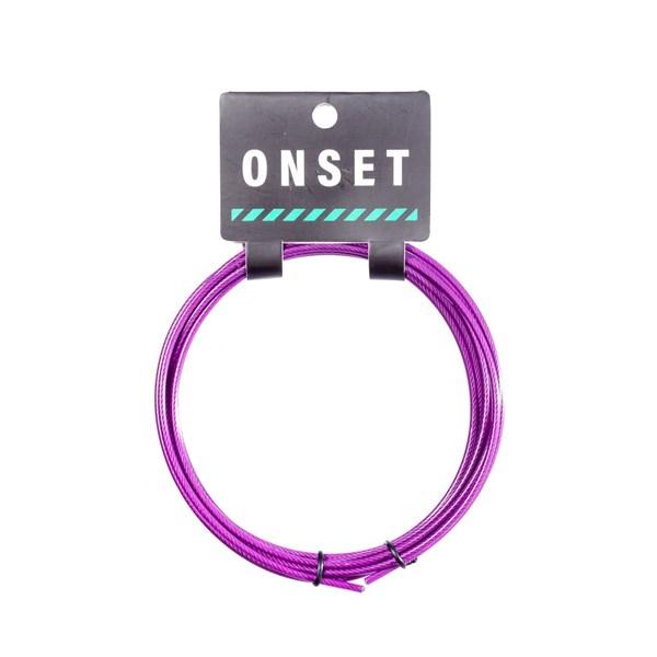 Cabo de Reposição Básico Onset Fitness 3 Metros - Purple