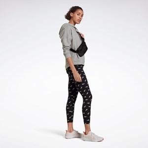 Calça Legging Reebok Training Essentials Vector - Black