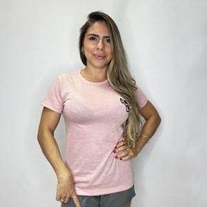 Camisa Feminina Onset Fitness Emoji Club - Porcelain Pink