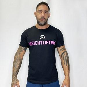 Camisa Onset Fitness Cross - Black/Pink