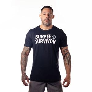 Camisa Onset Fitness Cross Burpee Survivor - Black
