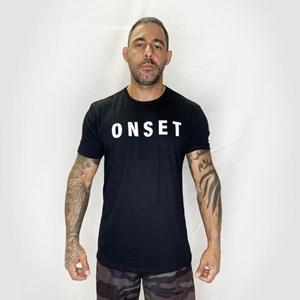 Camisa Onset Fitness Crossfit - Black/White