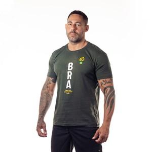 Camisa Onset Fitness Crossfit - Bra/Musgo