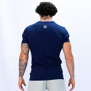 Camisa Onset Fitness Crossfit - Navy/White