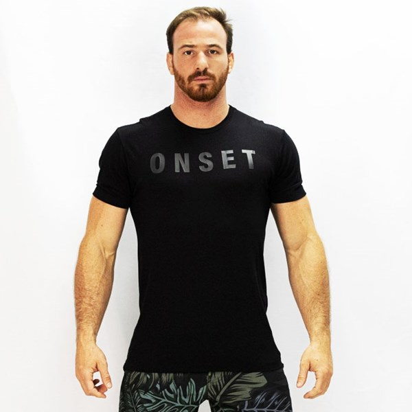 Camisa Onset Fitness Crossfit - Stealth