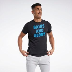 Camisa Reebok Graphic Short Sleeve Tee - Black