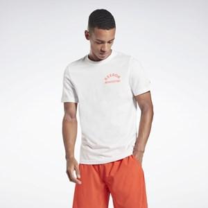 Camisa Reebok Weightlifting - White