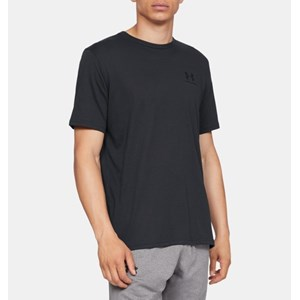 Camisa Under Armour Left Chest - Black