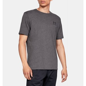 Camisa Under Armour Left Chest - Grey