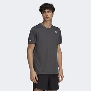 Camiseta Adidas Run It - Grey Six