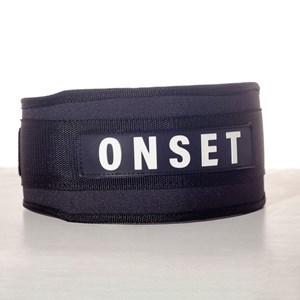 Cinto de LPO de Nylon Onset Fitness - Black