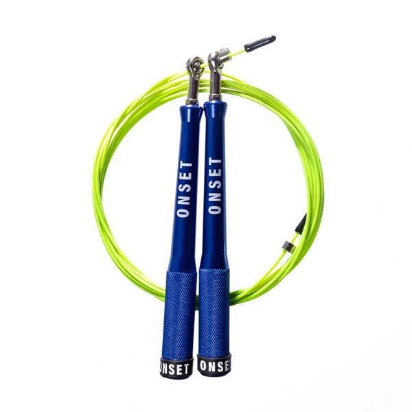 Corda de Pular Speed Rope Onset Fitness 3.0 Extreme - Blue/Light Green