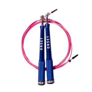 Corda de Pular Speed Rope Onset Fitness 3.0 Extreme - Blue/Pink
