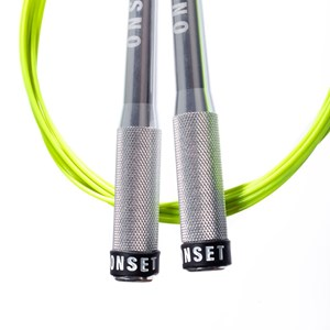 Corda de Pular Speed Rope Onset Fitness 3.0 Extreme - Silver/Light Green