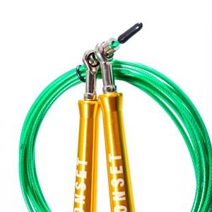 Corda de Pular Speed Rope Onset Fitness 3.0 - Gold/Green