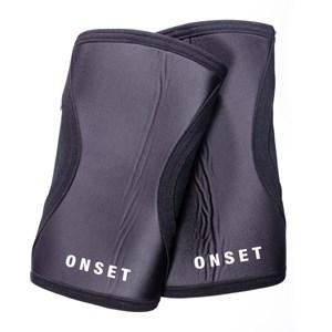 Joelheira Cross Onset Fitness 7 mm - Black
