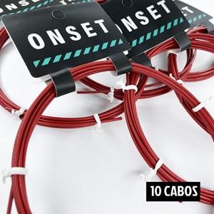Kit 10 Cabos de Reposição Extreme - Red