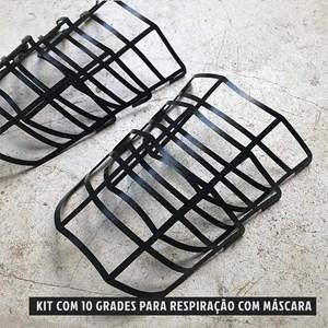 Kit 10 Grade de Proteção para Máscaras Onset Fitness - Black
