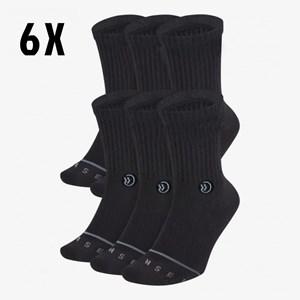 Kit 6 Meias Onset Fitness - Black