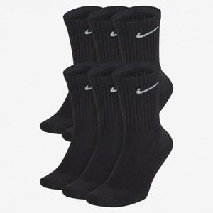 Meia Nike Everyday Cushion Crew 6 pares - Black