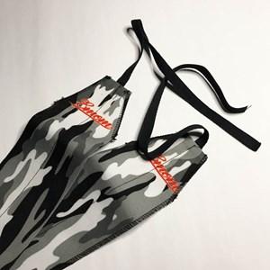 Munhequeira Crossfit Strength Wrap Onset Fitness - Black Camo