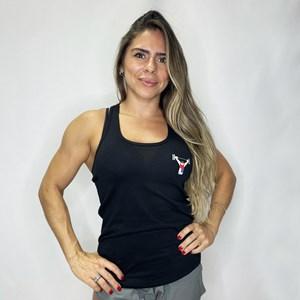 Regata Feminina Onset Fitness Emoji Club - Black