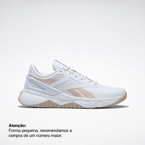 Tênis Reebok Nanoflex TR - Ftwr White/Soft Ecru/Rose Gold